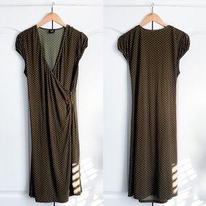 Mossimo Polka Dot Wrap Dress